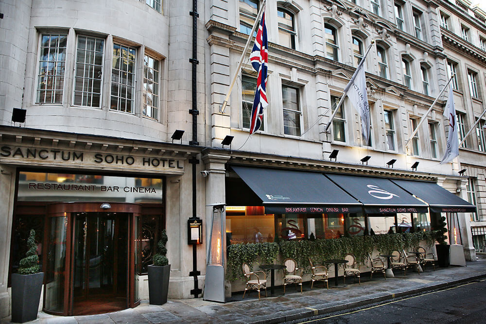 5 Luxury Rock N Roll Boutique Hotel In Soho Rooftop Bar With Central London Suites