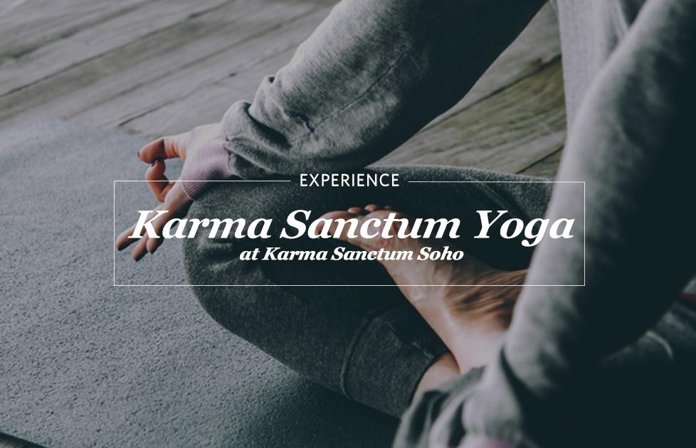 Karma sanctum yoga at Karma Sanctum Soho