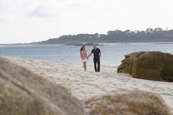 A Couple on Karma saint Martins Beach