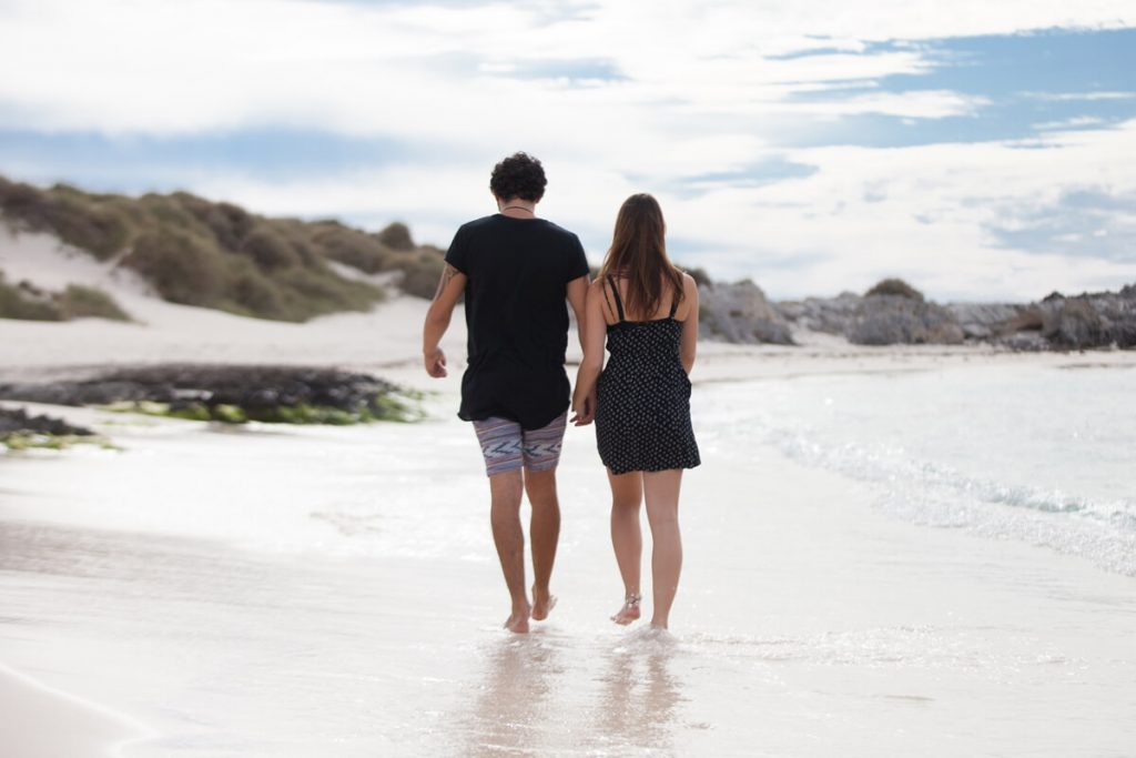 A Couple at Karma Rottnest Beach