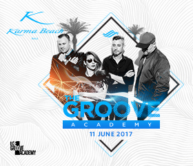 karma beach the groove academy