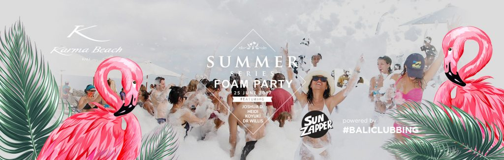 Summer Series Foam Party