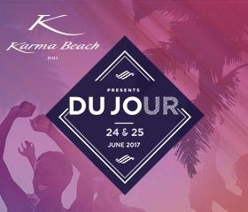 DJ Du Jour at Karma Beach Gili Meno