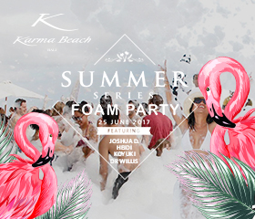 karma news event foam party