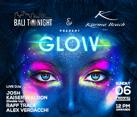 karma news event beach glow august