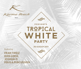karma news event tropical white party