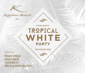 karma news event tropical white party