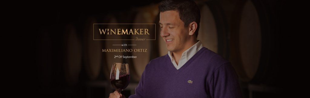 Winemaker Maximiliano Ortis