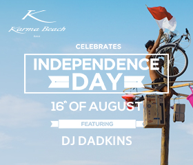 Independence Day at Karma Beach Bali
