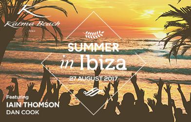 summer in ibiza