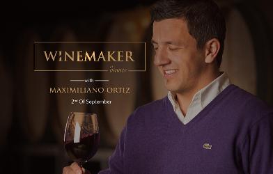 Winemaker maximiliano ortiz