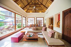 karma Jimbaran living room