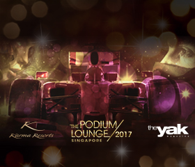 The 2017 Podium Lounge Official Resort Partner