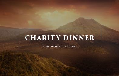 Charity Dinner for Mount Agung Banner
