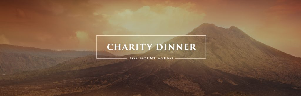 Charity Dinner for Mount Agung