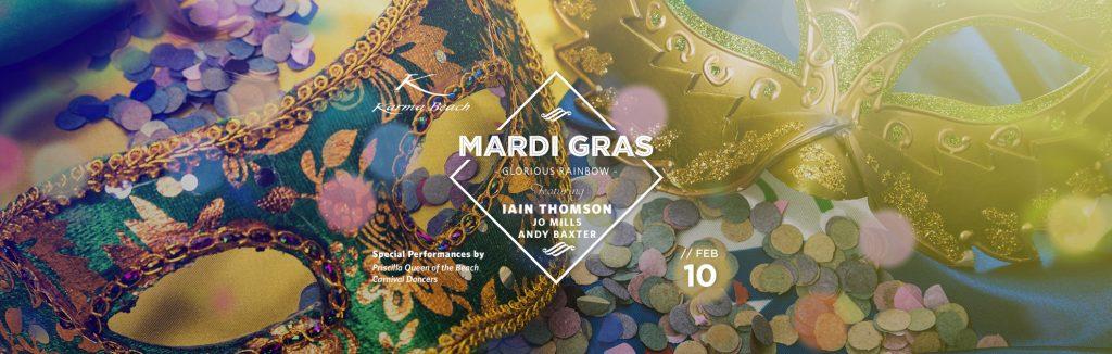 Mardi Gras, Karma Beach