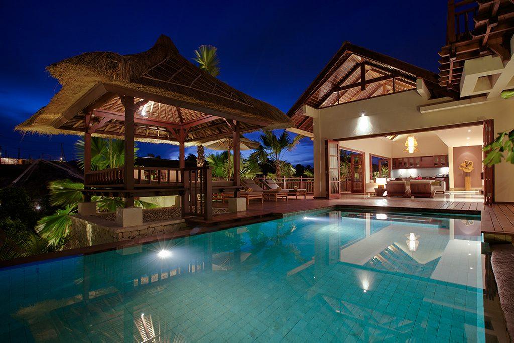 Luxury resort, Pool view