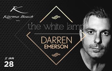 karma beach, the white lamp darren emerson