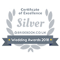 Cerificate of Excellence - Silver - BrigeBook.co.uk - Wedding Awards 2018