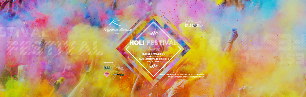 The exuberant Hindu spring festival of Holi, Color festival, luxury party