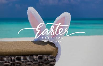 elegant Easter festival karma beach