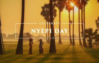 Luxury Celebrate, day of silent, nyepi day