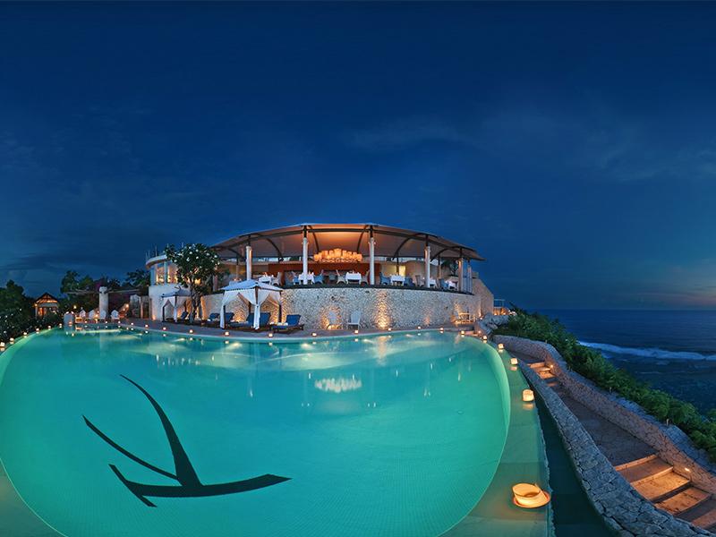Luxury resorts karma kandara beautiful swimming pool